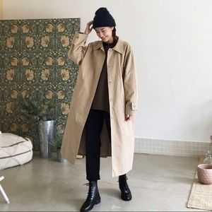 Jackets & Blazers - 🧥Vintage Trench Coat with mini puff sleeves🧥